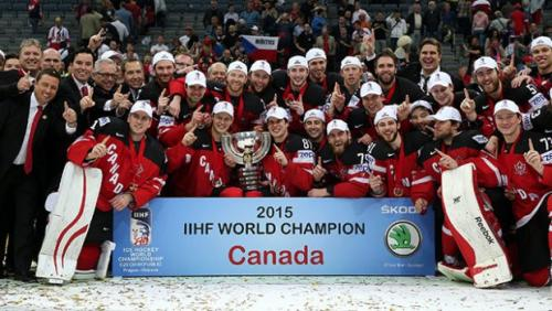 Will defending Ice Hockey World Champions Canada clinch the 2016 Winter Sports title?