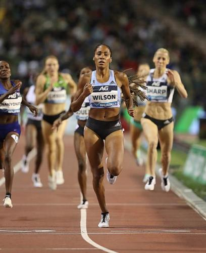 Ajee Wilson of the USA was the women's 800m Diamond League Champion in 2019 – pict.: G. Colombo