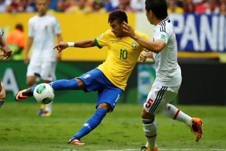 Neymar led Brazil to victory in the Confederations Cup