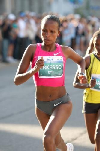 Teyba Erkesso of Ethiopia
