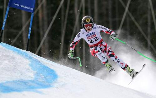 Anna Fenninger of Austria flies to Super G gold in Vail