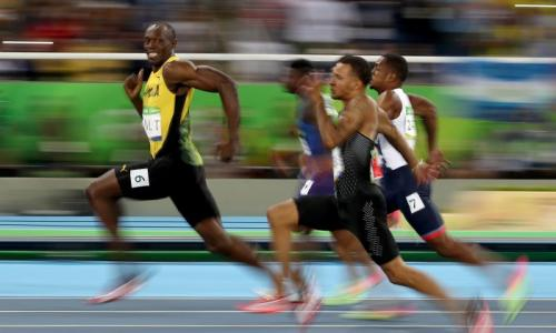 Not as fast as Usain Bolt, but the world's sporting landscape is changing – pict.: Getty Images
