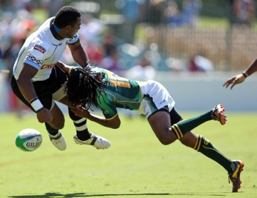 South Africa hits hard at the IRB Rugby Sevens series