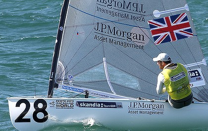 Ben Ainslie of GBR, Finn Class World Champion