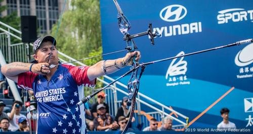 Brady Ellison of the US Archery team – picture: World Archery Federation