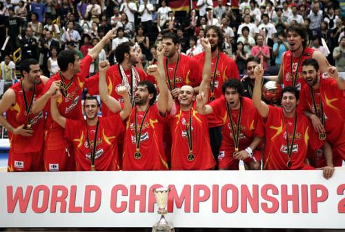 World and European champions Spain
