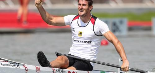 Three-time Olympic gold medallist Sebastian Brendel (Germany) won the C 500 at the Canoe/Kayak Sprint Worlds in August