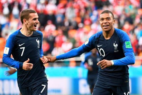 Antoine Griezmann and Kylian Mbappé powered France to victory at the FIFA Football World Cup 2018