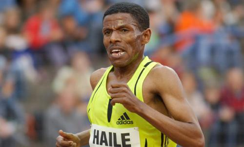 Hailé Gebrseilassie of Ethiopia