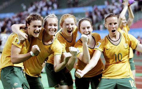 Winning Matildas