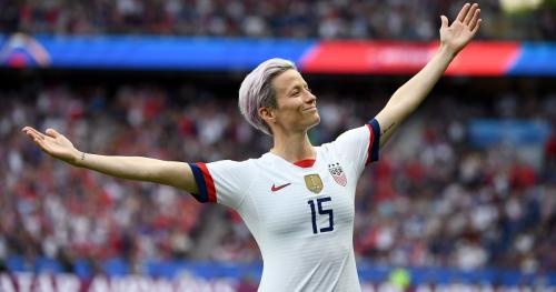 Megan Rapinoe, captain of the USA's Women's Football team - picture: Franck Fife