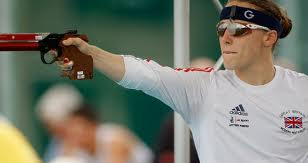 M. Spence of GBR, 2012 World Pentathlon champion