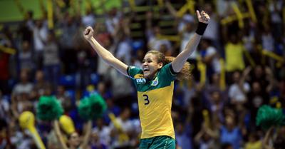 A. Do Nascimento of Brazil (Handball)