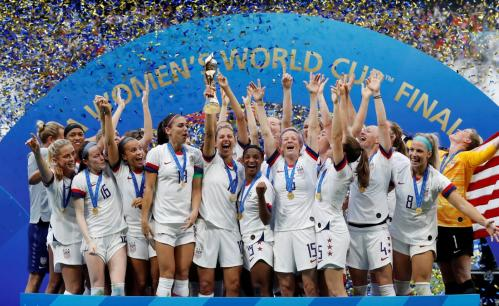 The USA won the 2019 women's Football World Cup