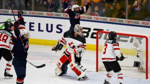 USA Ladies scored overtime winner to clinch world title against Canda