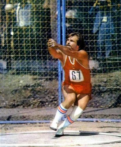Yuri Sedikh of the USSR