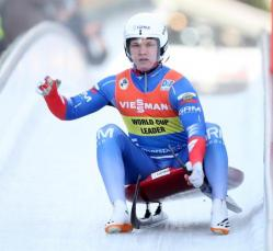 Roman Repilov (Russia) took individual gold at the 2020 Luge World Championships
