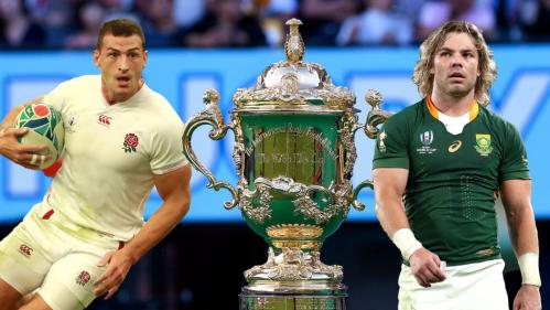 South Africa beat England in the 2019 Rugby World Cup final