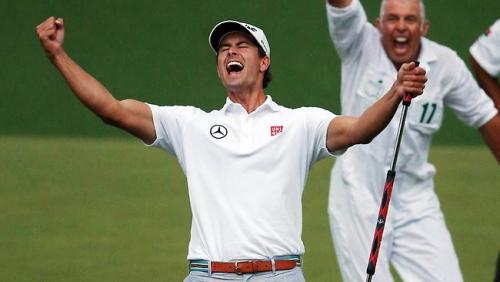 Adam Scott (Australia) Masters' winner 2013