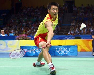 World Badminton Champion Chen Jin of China