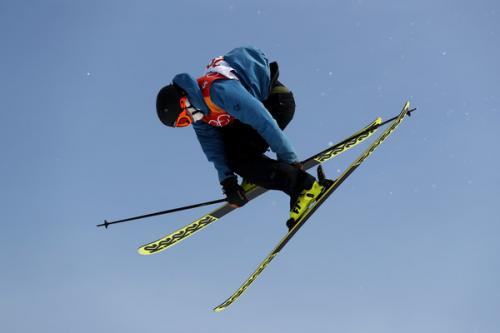 Christian Nummedal (Norway) leaps to Big Air victory in the Freestyle Skiing World Cup