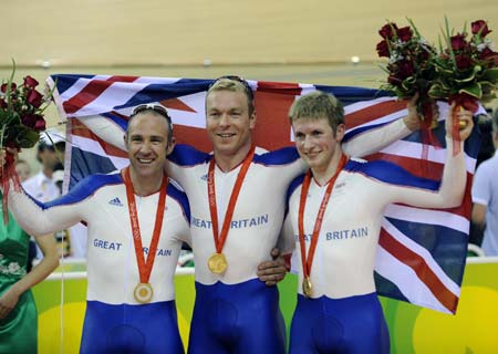 British Track Cycling success at the 2008 Beijing Olympics