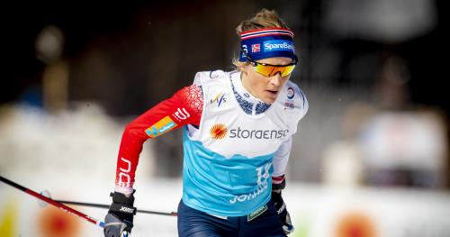 T. Johaug (Norway), gold in the women's 10 km race at the Cross-country Skiing World Championships – pict. Bjørn Langsem/Da