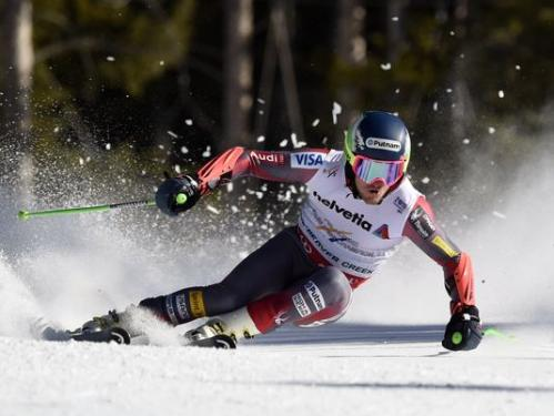 Ted Ligety (USA) takes the Giant Slalom 2015 world title in Vail-Beaver Creek