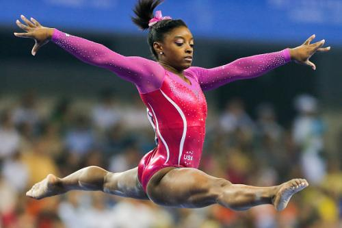 US Gymnastics World Champion Simone Biles