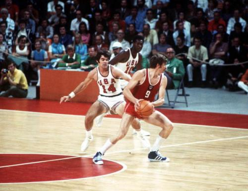 Blast from the past? Are we back to the days of USA-Russia superpower sport rivalry (pic from the dramatic 1972 Olympics Basketb
