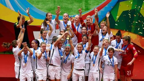 US Ladies triumph in the 2015 Football World Cup
