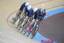 The US won the women's Team Pursuit at the 2020 World Track Cycling Championships - Pict.: Casey B. Gibson