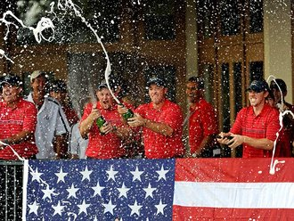 USA team at the Ryder Cup