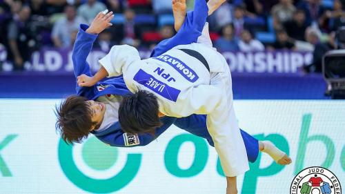 Japan's Uta Abe powers her way to the world title in the Judo women's under 52 kg category at the 2018 World Championships