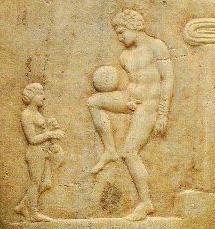 ancient greek football?