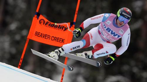 Beat Feuz of Switzerland, Alpine Skiing Downhill World Cup champion in 2020