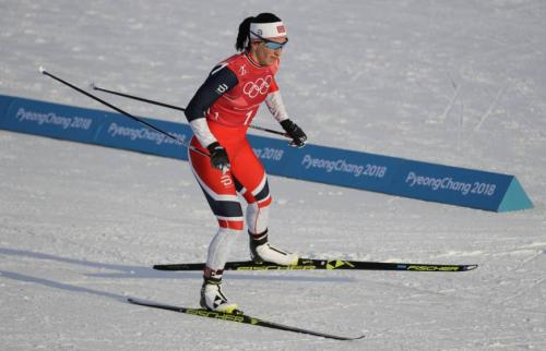 Marit Bjoergen (Norway) won 6 Cross Country Skiing medals (3 golds) in PyeongChang