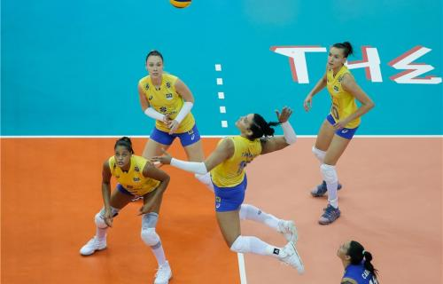 Brazil was runner-up in the 2019 Volleyball women's Nations League