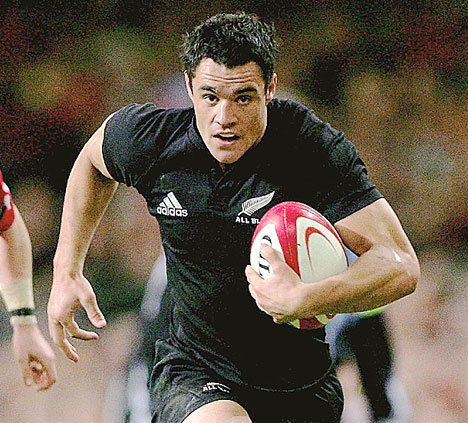 Dan Carter of NZ: on the way out?