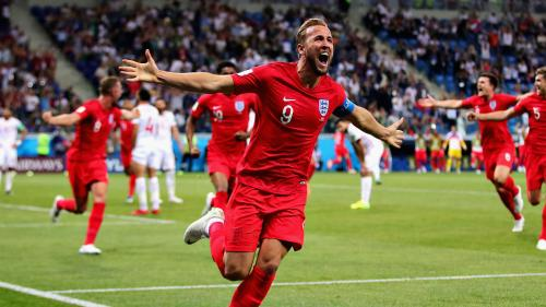 Striker Harry Kane played a big part in England's 2018 FIFA World Cup run – pict.: Getty Images