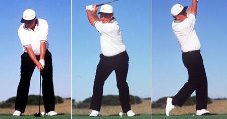 Jack Nicklaus swings