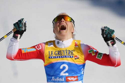 Therese Johaug (Norway) won three golds at the 2019 Cross Country Skiing World Championships