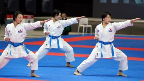 Japan won the Karate World Championships in November 2018