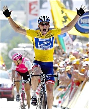 Lance Armstrong of the USA