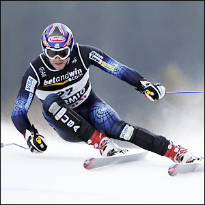 Bode Miller of the USA