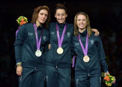 The Italian Foil Trio