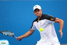 Andy Roddick of the USA