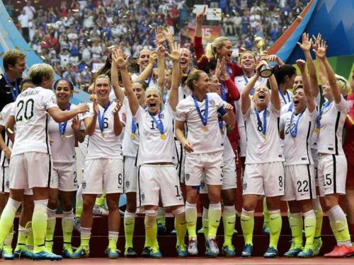 USA Ladies win the 2015 Football World Cup